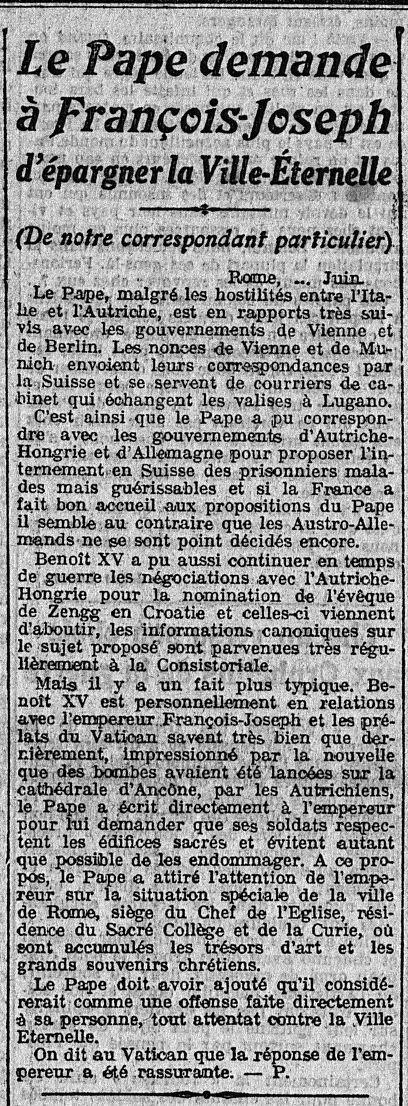 28 juin 1915