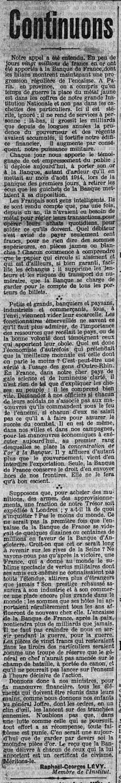 13 juillet 1915
