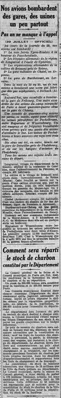 31 juillet 1915