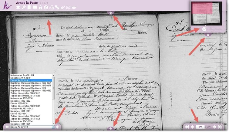 Archives départementales en ligne de la Haute Vienne Ad87-6