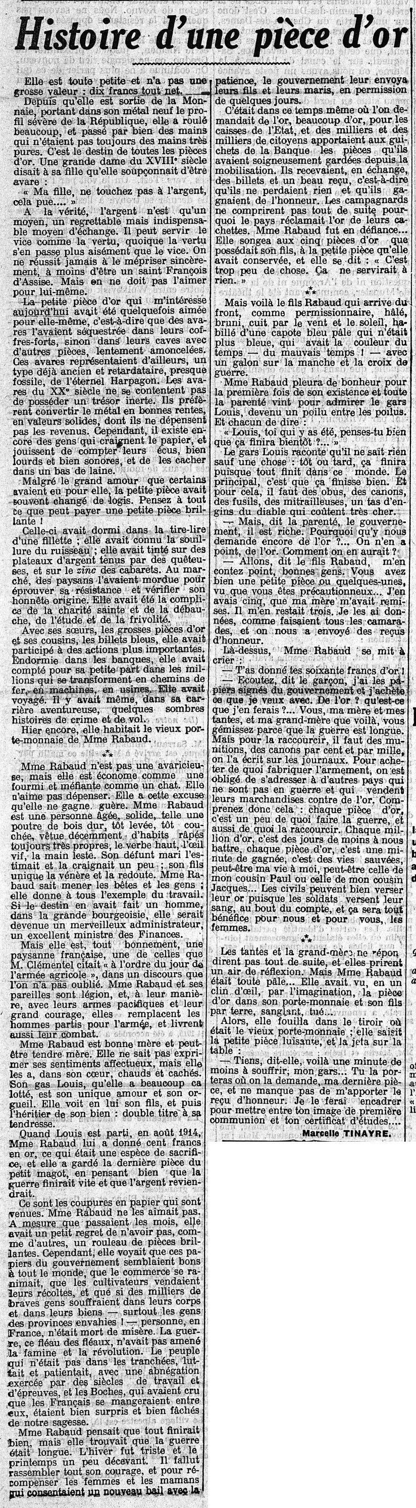 13 septembre 1915