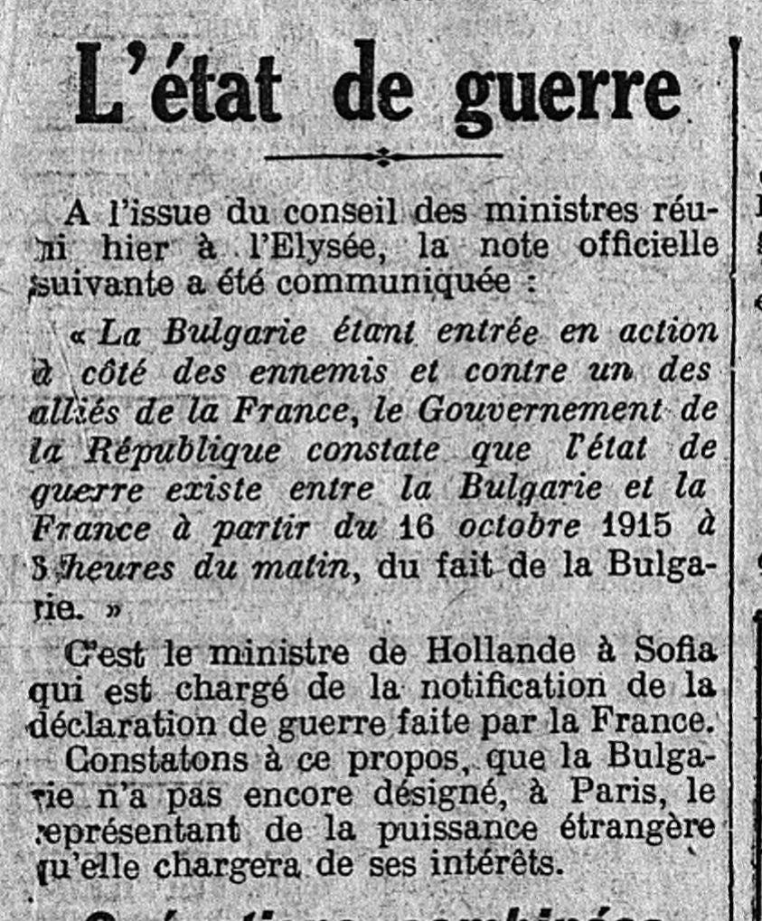 18 octobre 1915