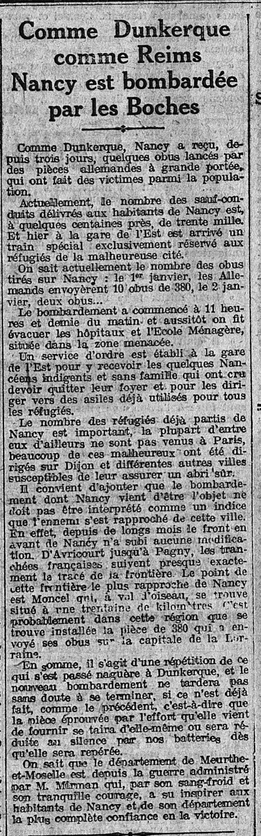 8 janvier 1916