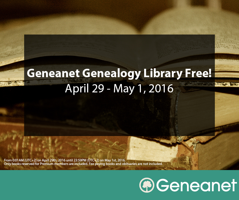 geneanet genealogy library free april 29 may 1 2016 geneanet