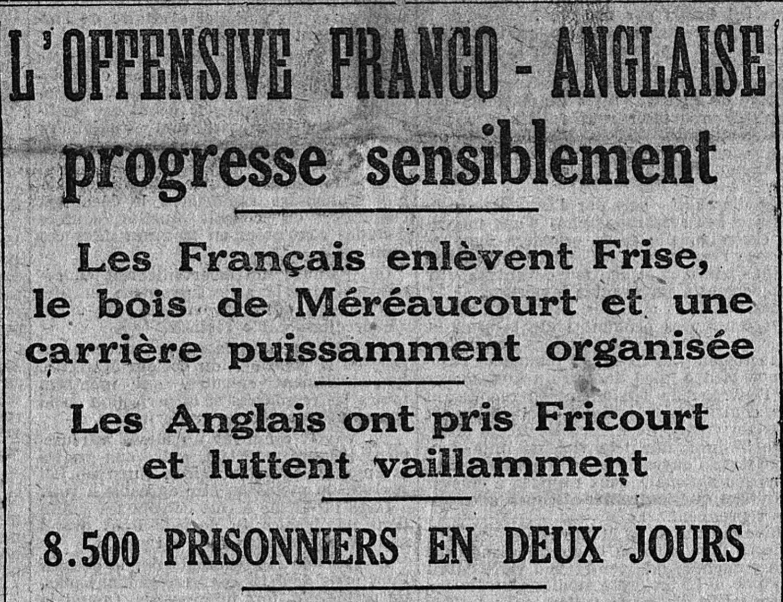 3 juillet 1916