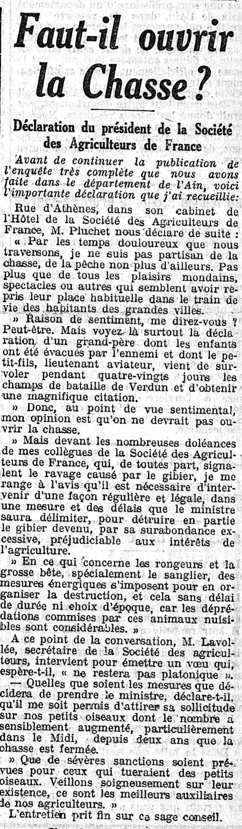 10 août 1916