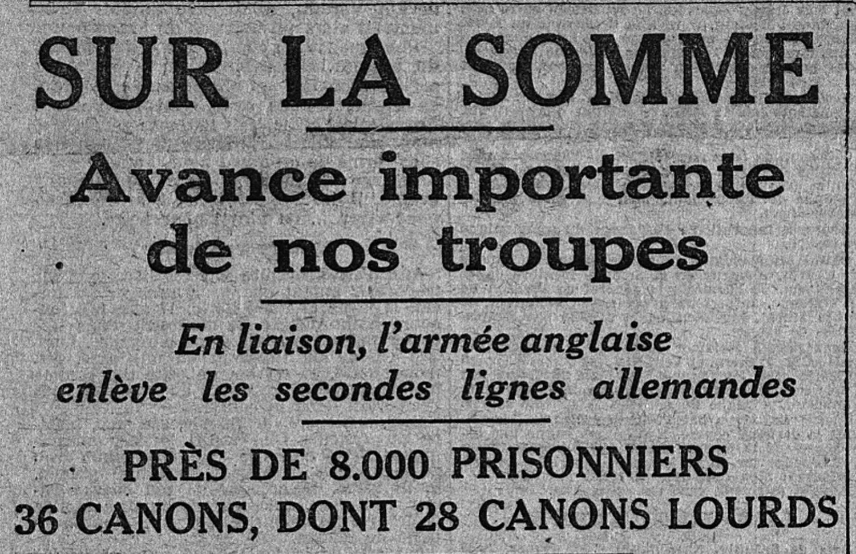 6 septembre 1916