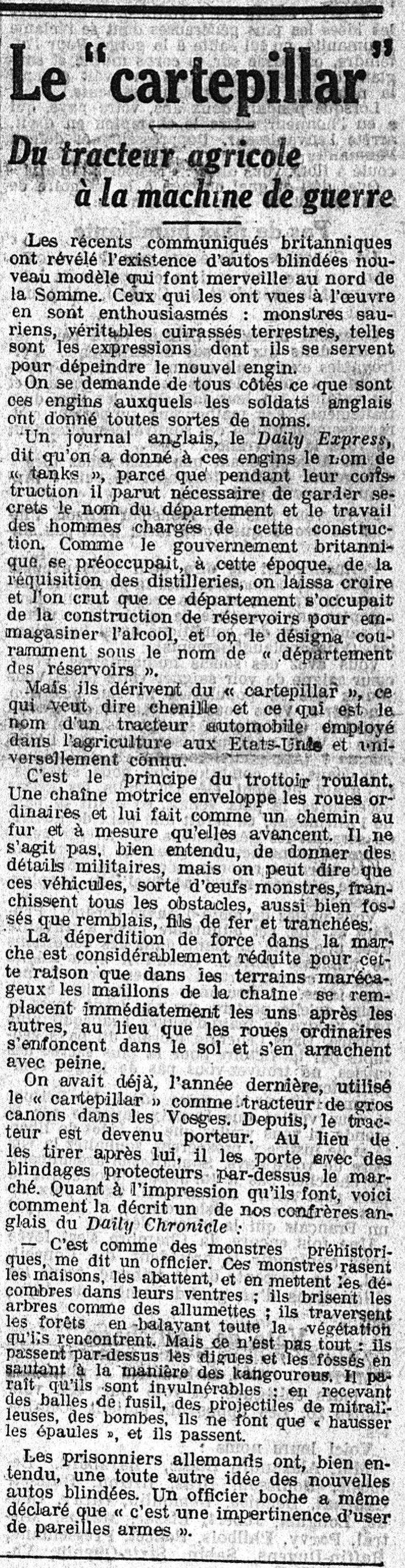 20 septembre 1916