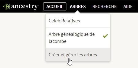 Comment transférer ma généalogie de Ancestry sur Geneanet   - Geneanet 88549543bf