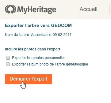 Comment transférer ma généalogie de MyHeritage sur Geneanet   - Geneanet 6b67215266