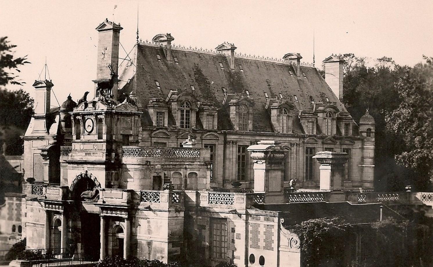 Carte postale ancienne du château d'Anet.