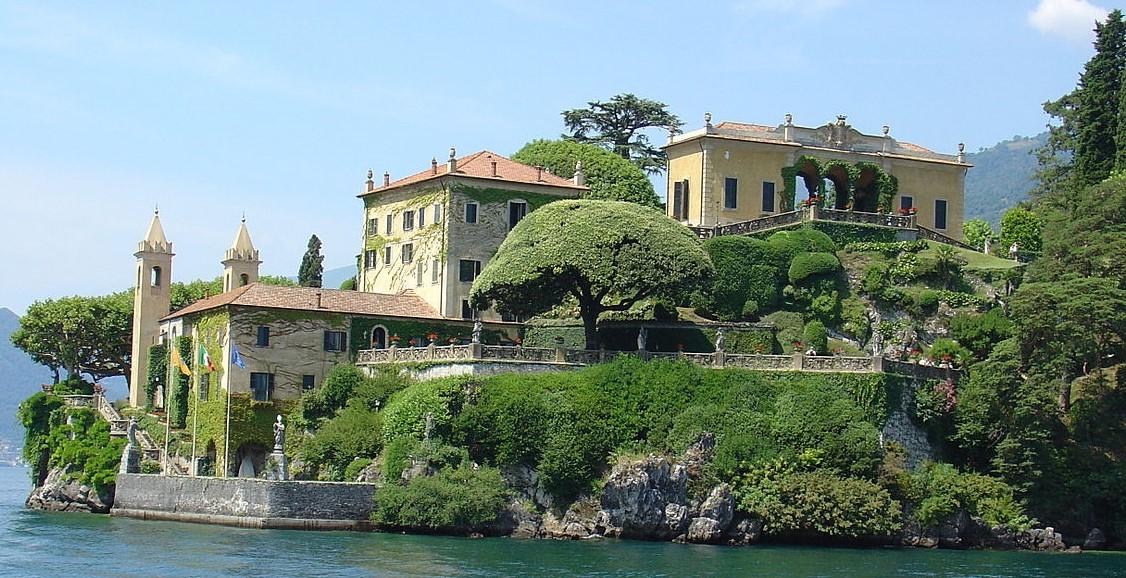Photographie de la villa Balbianello.