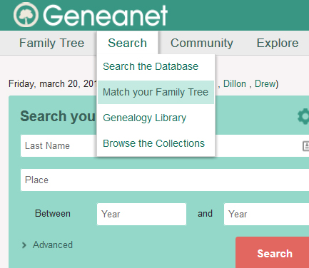 help match your family tree premium members