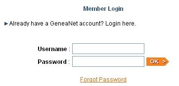 Plusieurs comptes sur GeneaNet