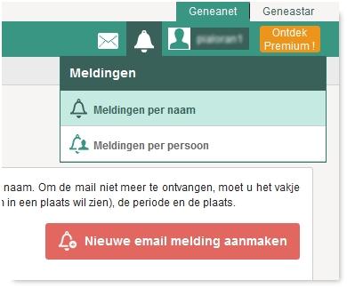 3 Tips voor het maken en bekijken van uw  Geneanet email meldingen