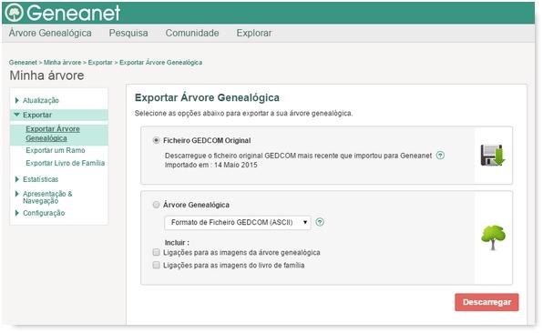 Como Restaurar e Exportar Sua Árvore Genealógica Geneanet?