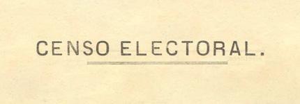 Censos electorales