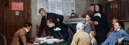 Eheschließungen des 19. Jahrhunderts